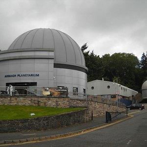 Armagh Planetarium - Exterior view