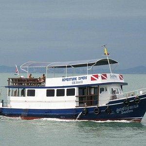 Adventure Diver's Boat, the MV Saifon