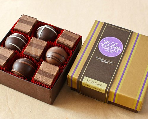 Fresh hazelnut truffles: A signature recipe created by our founder in the 1920's.