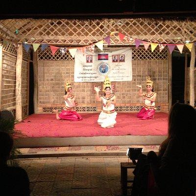 The Amazing Aspara Dance!