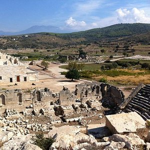 The Lycian Assembly Room form Amphitheatre
