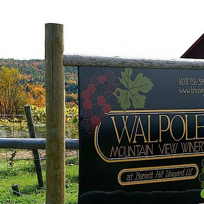 Winery Sign when you first pull in
