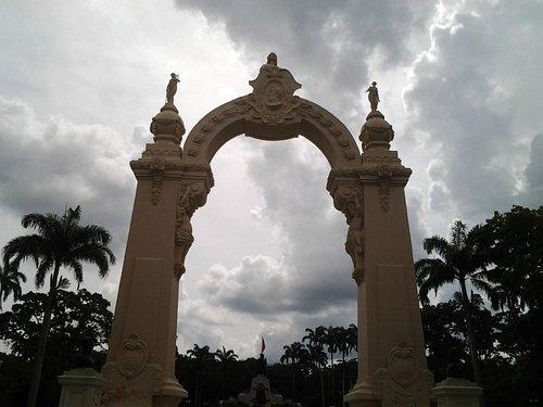 El Arco de Triunfo en Campo de Carabobo