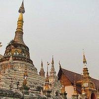 The Burmese style Chedi