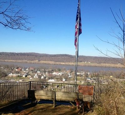 Fort Duffield view point over to the Ohio River :)