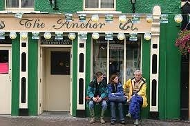 the anchor in fine weather!