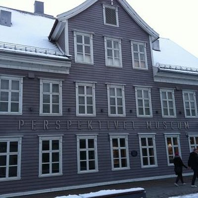 the museum from outside.