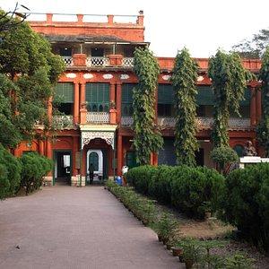 Tagore's Main Courtyard