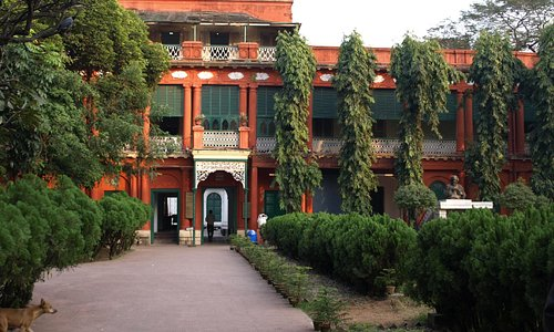 Tagore's Main Courtyard