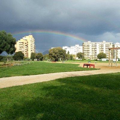 Arcobaleno dopo la tempesta