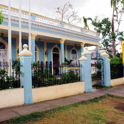 entrance to the Casa del Caribe