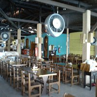 Parte do Interior do restaurante