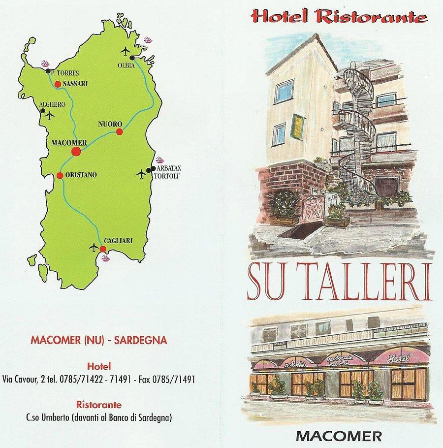 Cartina Sardegna Con Hotel.Hotel Su Talleri Macomer Prezzi 2021 E Recensioni
