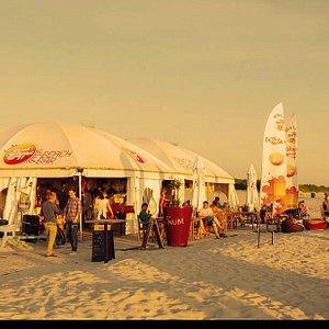 Red Sun Buffet Beach Bar, Summer 2012