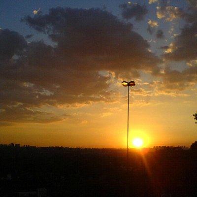 atardecer desde Praca Por do Sol, Sao Paulo (BR)