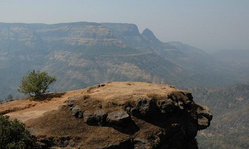 The rock at Matheran