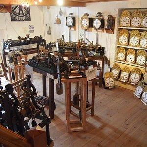 musée de l'horloge Charroux - en Allier