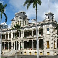 Iolani Palace, Honolulu, Hawaii.