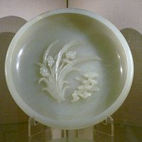 Jade brushwasher Qing 1736-95