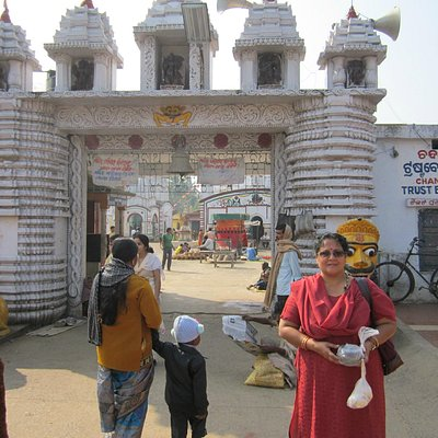 Entrance of the temple.