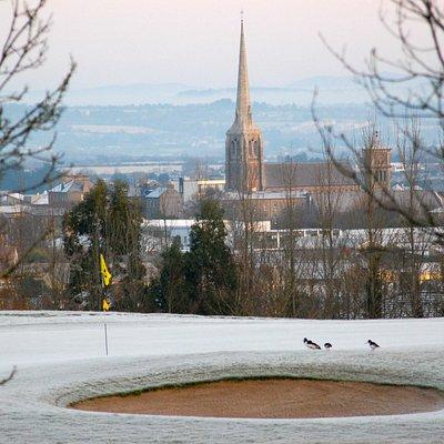 A frosty morning in Wexford Golf Club