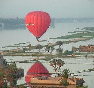 Magic Horizon Balloons and the river Nile