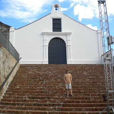 Church and Religious Museum in San German, Puerto Rico.