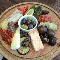 Lunchtime platter
