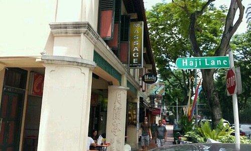 Haji Lane for boutique shops
