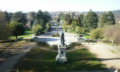 Vista del campus de la universidad desde la Alameda