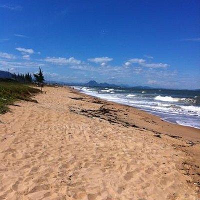 Unamar 8km long beach