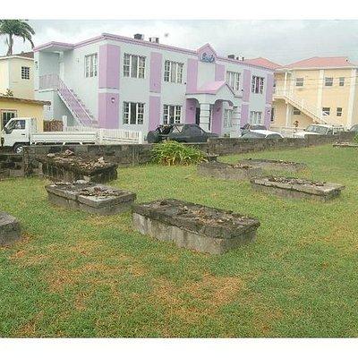 Jewish Burial Grounds - Charlestown, Nevis, WI