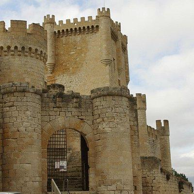 Entrada del castillo.