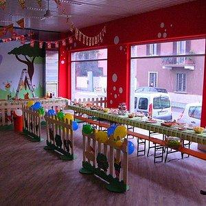 area feste di compleanno