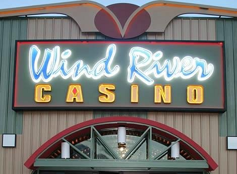 Wind River Hotel & Casino Front Entrance