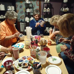 Paint Your Own Pottery @ Elements