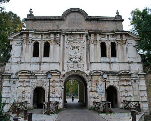 Parco della Cittadella - entrata 1