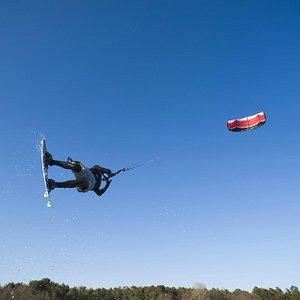 Kiteflying in Stockholm