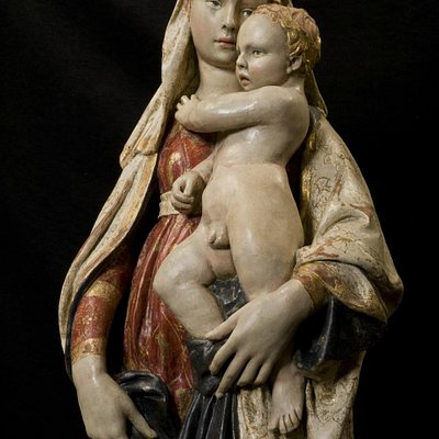Madonna di Citerna attribuita a Donatello