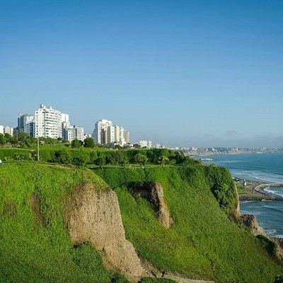 Panorámica de la Costa Verde (hacia Chorrillos)