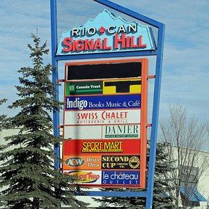 Signal Hill Shopping Centre, Jan 2013