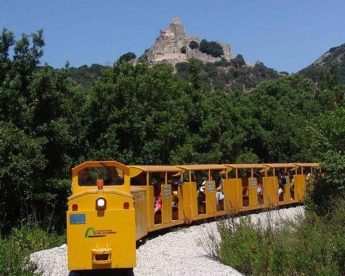 A bordo del Treno minerario