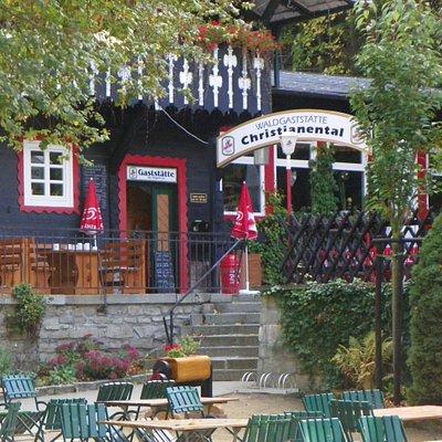Gaststätte im Wildpark Christianental