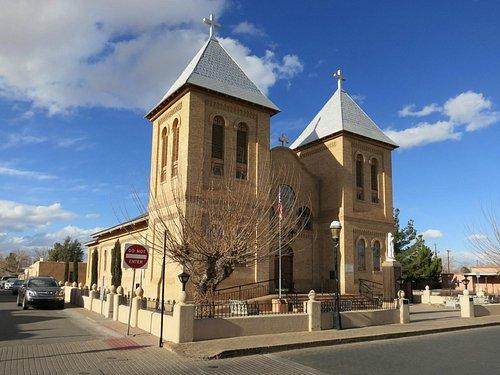 San Albino Church, afternoon view