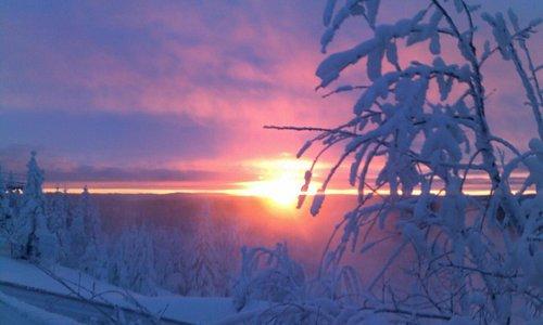 Solnedgång Solberget