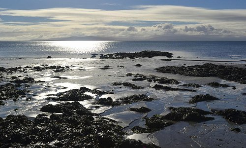 Galway Bay viewed from Salthill Beach