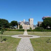 The Grange: garden
