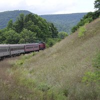 On the Tioga Centrail Railroad
