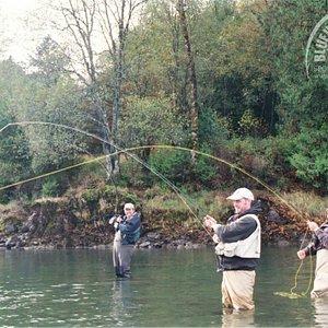 Triple Header Fly Fishing