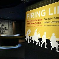 The entrance to the Firing Line Museum, located in Cardiff Castle's Interpretation Centre